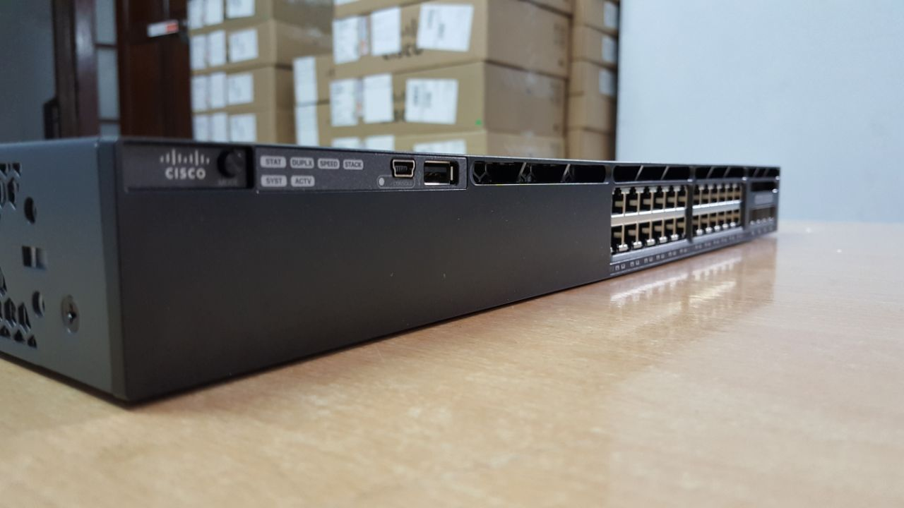 Switch Cisco 3650 24 port