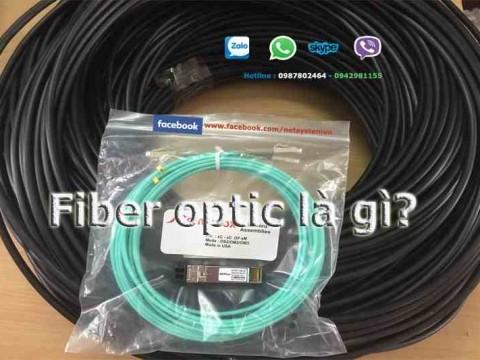 Fiber optic là gì? đôi nét về các thành phần đấu nối