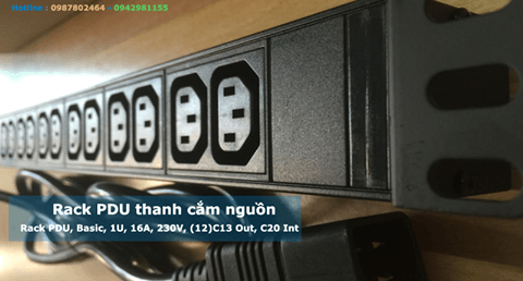4 mẹo giúp bạn chọn thanh nguồn pdu phù hợp với tủ rack
