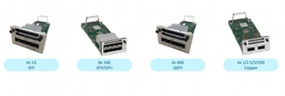 module quang Cisco Catalyst 9300