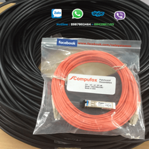 Cáp quang amp multimode 4 sợi Fiber Optic Cable, Outside Plant, OM2, 1-1427449-2 Dielectric Jacket (FO CABLE, OSP, 4F, OM2 50/125)
