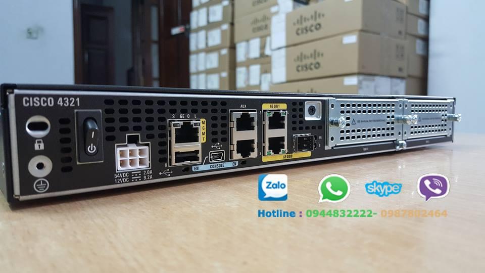 Price list giá Router Cisco từ hãng mới nhất