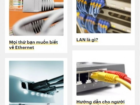 Ethernet là gì? Các tính năng hàng đầu của Ethernet