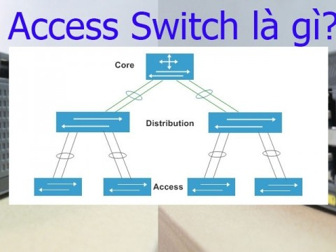 Access switch là gì? Sự khác biệt giữa Core switch vs Access switch