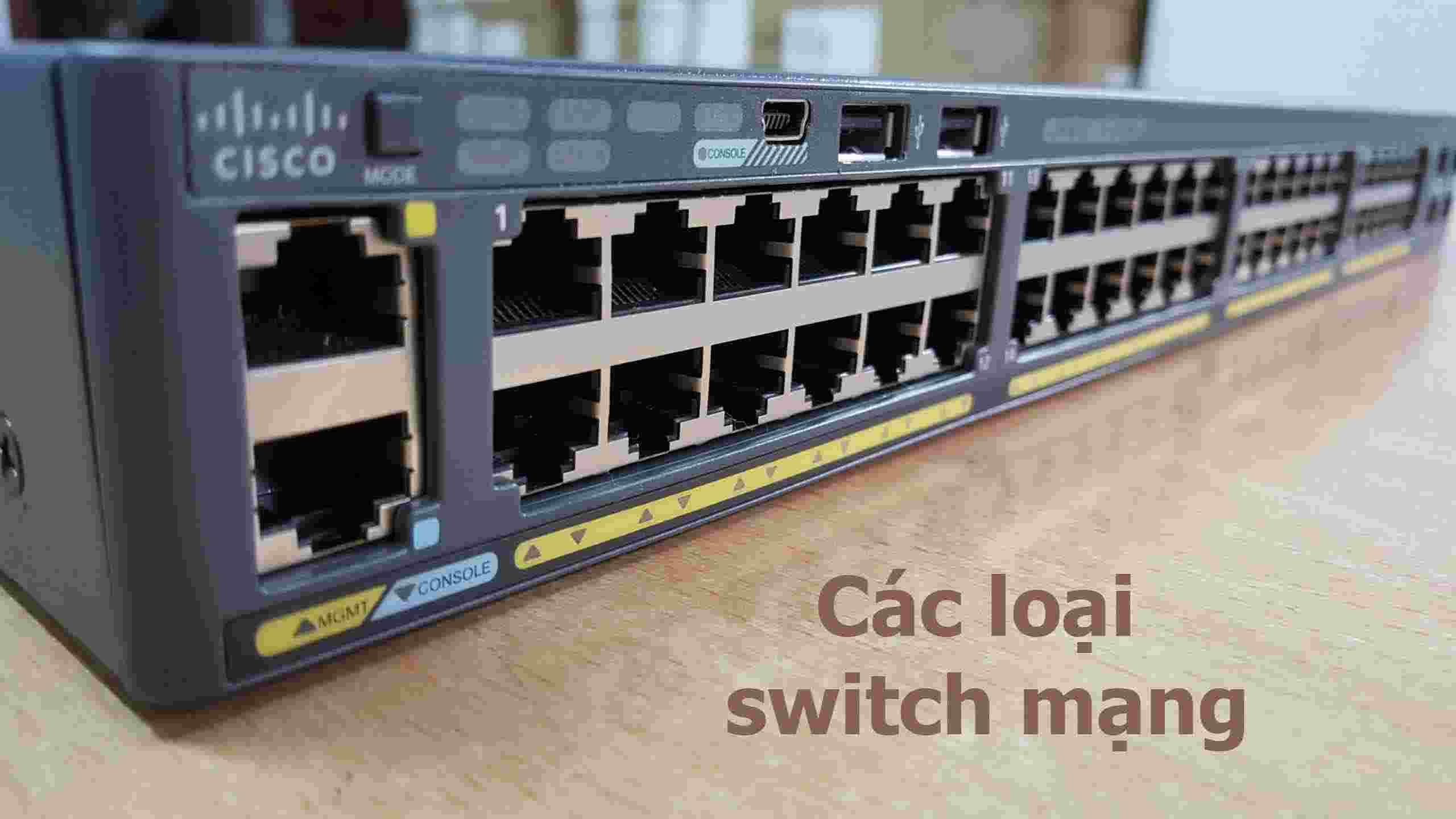 các loại switch mạng