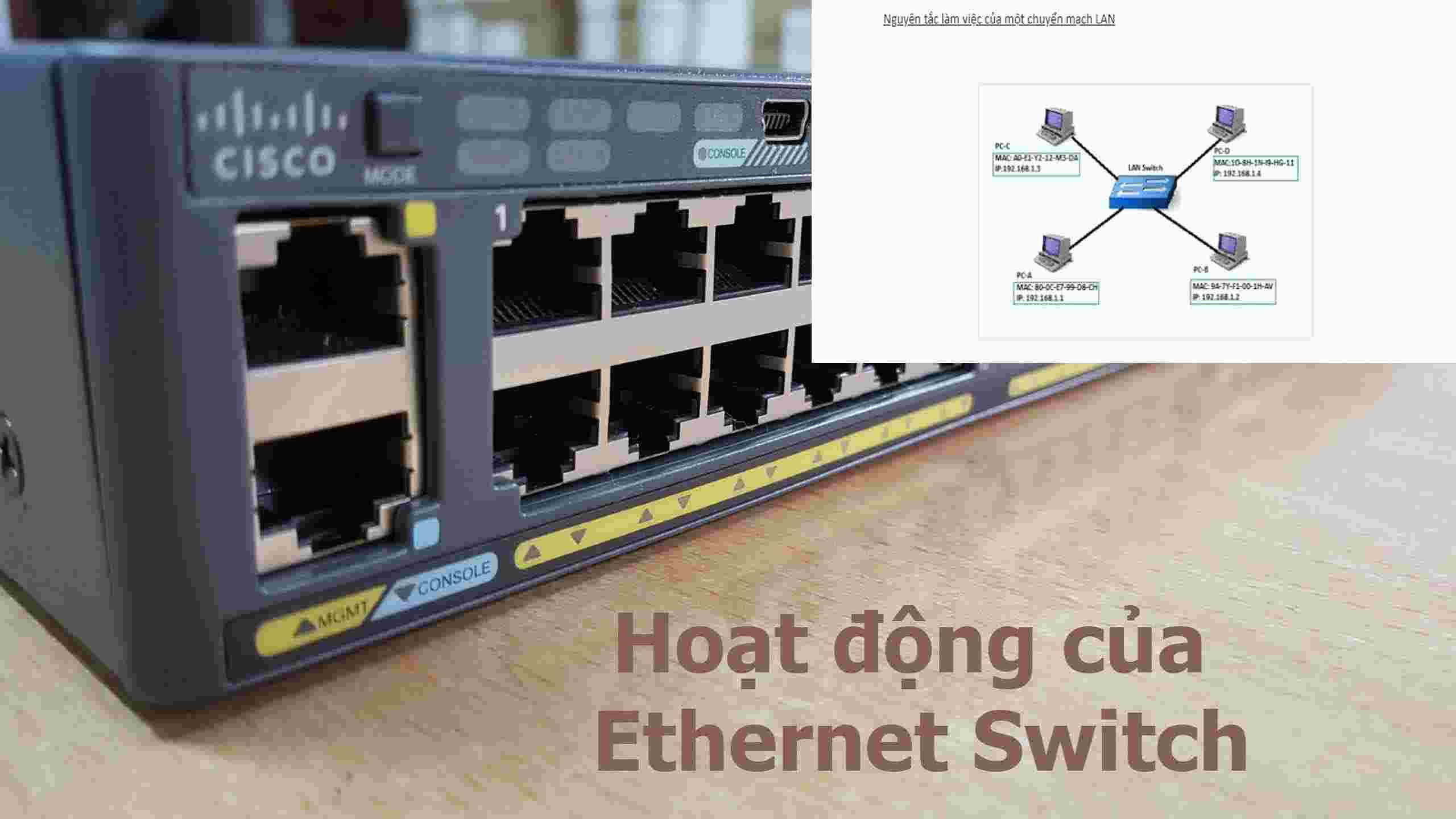 nguyên lý hoạt động của Switch