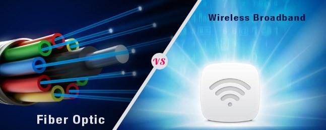 Sự khác biệt giữa cáp quang và Wifi không dây là gì