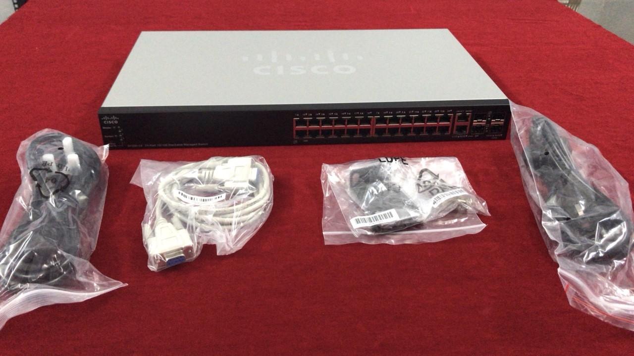 Thiết bị chuyển mạch Switch Cisco chính hãng