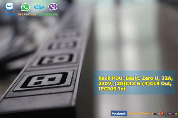 Thanh nguồn pdu (20) C13 & (4) C19 32A