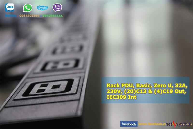 Thanh nguồn Power Distribution Units trên tủ Rack (PDU)