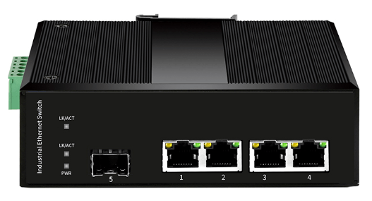 Cablexa MT-FI4204FP   1*SFP Slot + 4*10/100/1000Base-Tx, with POE