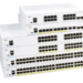 Cisco 350 Series Managed Switches so sánh với Cisco 350X Series Stackable